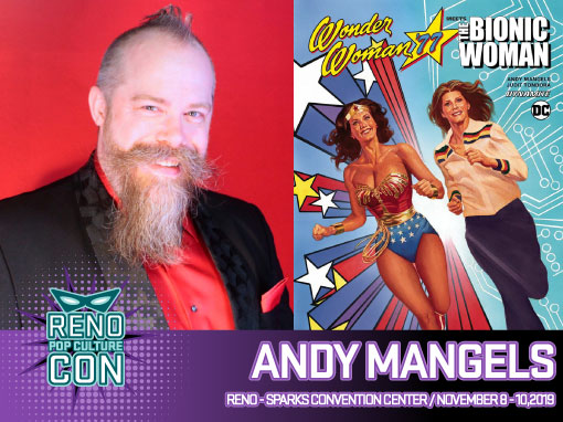 Reno Pop Culture Con - Andy Mangels