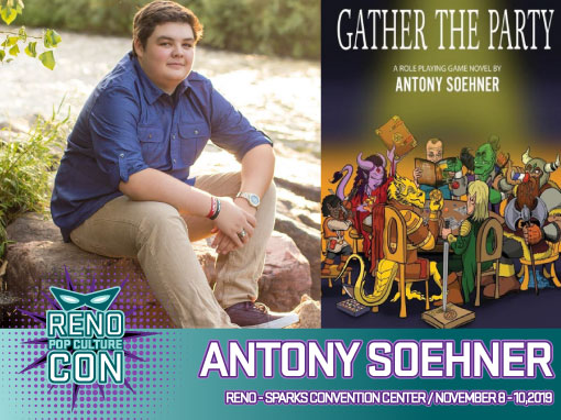 Reno Pop Culture Con - Antony Soehner