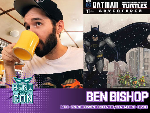Reno Pop Culture Con - Ben Bishop