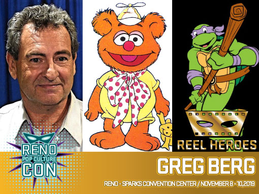 Reno Pop Culture Con - Greg Berg