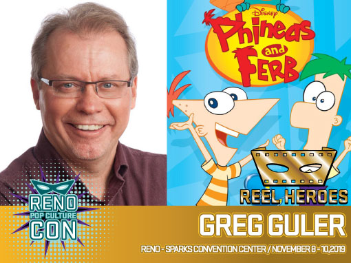 Reno Pop Culture Con - Greg Guler