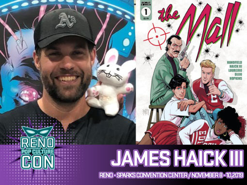 Reno Pop Culture Con - James Haick III