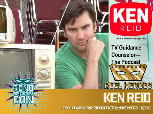 Reno Pop Culture Con - Ken Reid