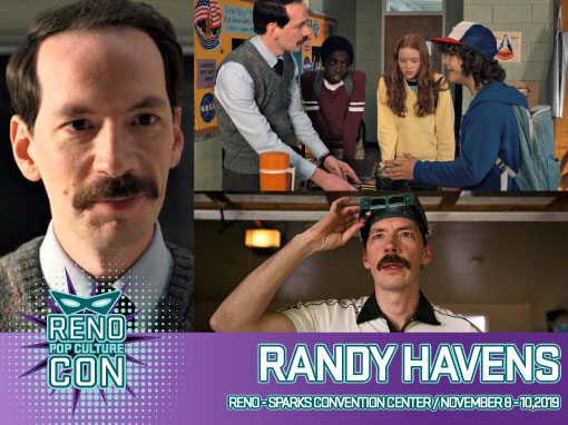 Reno Pop Culture Con - Randy Havens