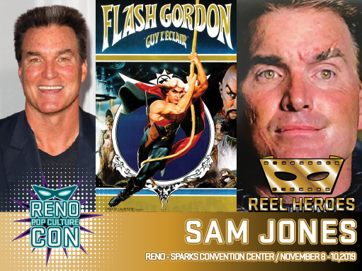Reno Pop Culture Con - Sam Jones