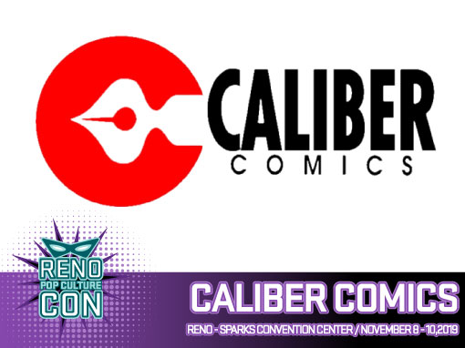 Reno Pop Culture Con - Caliber Comics