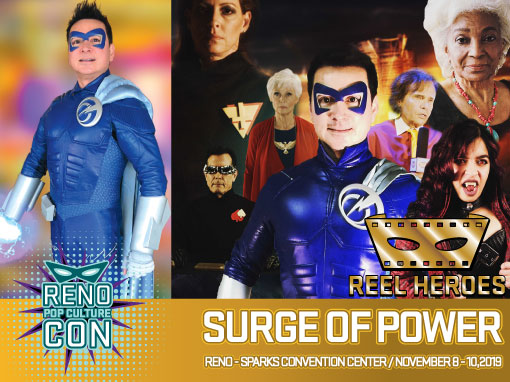 Reno Pop Culture Con - Surge of Power