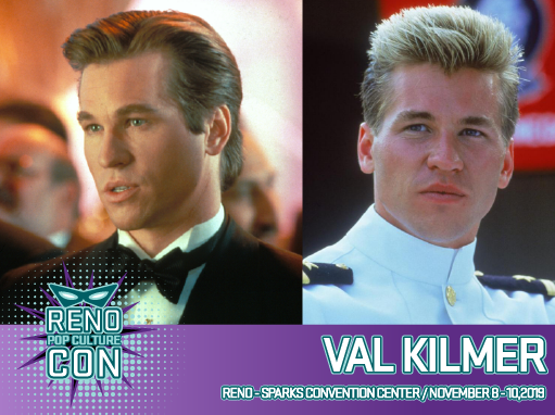 Reno Pop Culture Con - Val Kilmer